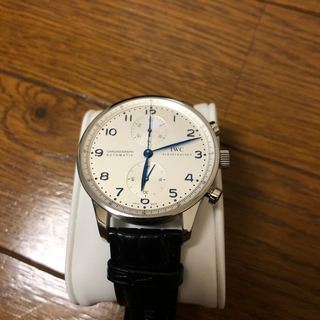 インターナショナルウォッチカンパニー(IWC)のIWC ポルトギーゼ クロノグラフ  青針  IW371446(腕時計(アナログ))