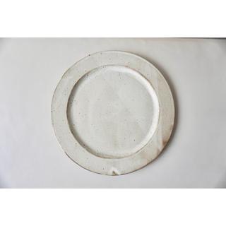 リムプレート 白マット(食器)