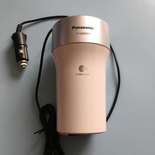 パナソニック(Panasonic)の美品!車載用空気清浄機ナノイー(車内アクセサリ)