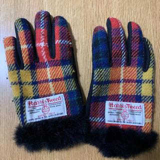 ハリスツイード(Harris Tweed)のハリスツイード 手袋★レディース(手袋)