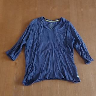 エーグル(AIGLE)のAIGLE 七分丈 Tシャツ Mサイズ(Tシャツ/カットソー(七分/長袖))