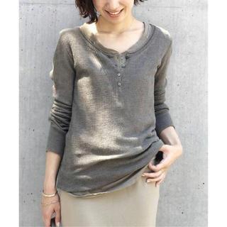 ドゥーズィエムクラス(DEUXIEME CLASSE)のDeuxieme Classe ワッフル long T ドゥーズィエムクラス(Tシャツ/カットソー(七分/長袖))