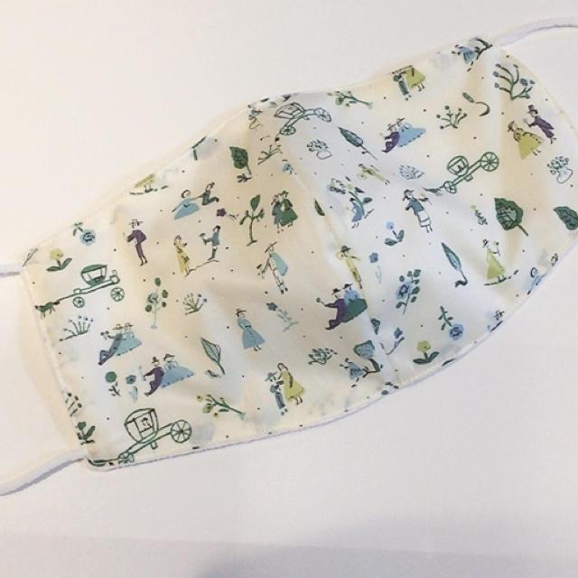 マスク2枚重ね 効果 / リバティ♡ナノミックス 布マスク の通販