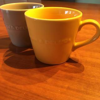 ディーンアンドデルーカ(DEAN & DELUCA)のDEAN&DELUCA コーヒーマグカップ2個(グラス/カップ)