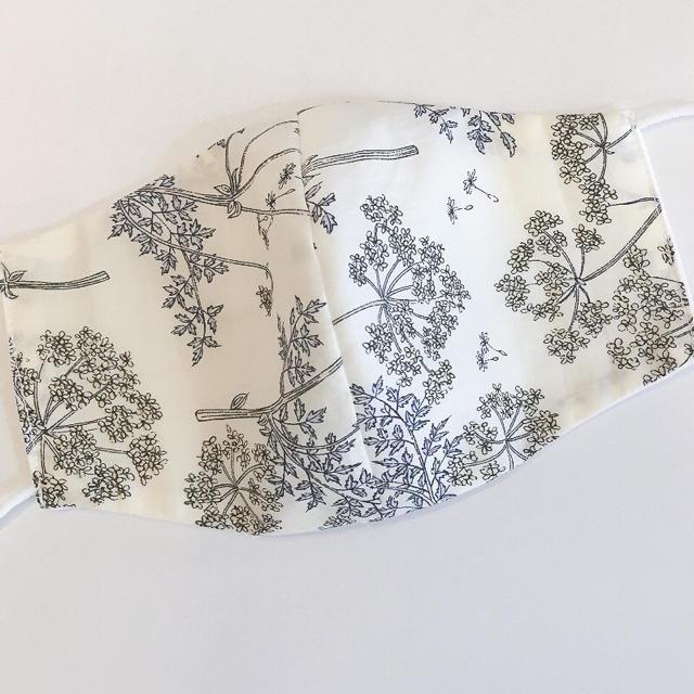 リバティ♡白ガーゼ 布マスクの通販