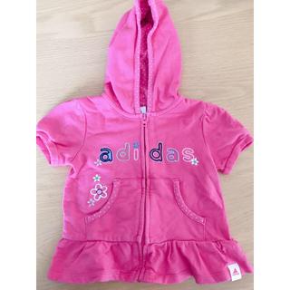 アディダス(adidas)の☆美品☆adidas☆セットアップ☆ベビー☆パーカー☆アディダス☆ピンク(トレーナー)