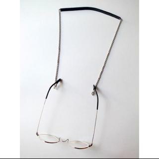 エンダースキーマ(Hender Scheme)のNL ニール OLIVER グラスホルダー・シルバーブラック(サングラス/メガネ)