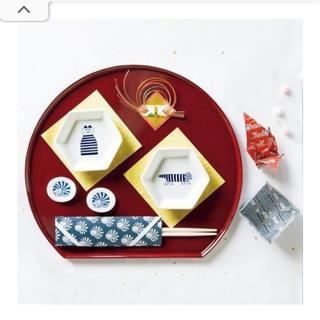 リサラーソン(Lisa Larson)のLISA LARSON 六角豆皿&箸置きセット(ファッション)