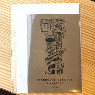 スターバックスコーヒー(Starbucks Coffee)のステッカー スターバックス リザーブ ロースタリー 東京 1周年(しおり/ステッカー)