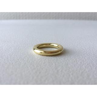 ハンドメイド リング シンプル 指輪 真鍮 3号 ピンキーリング(リング)