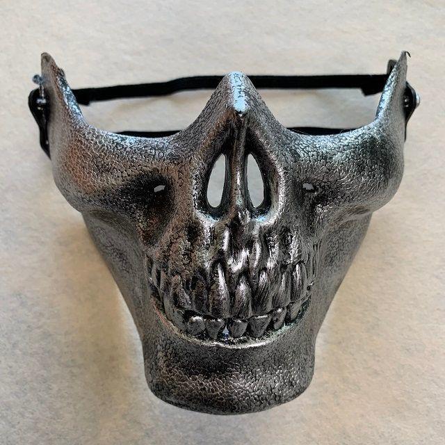 マスク スプレー | スカル 骸骨 マスク サバゲー コスプレの通販 by Rev's shop