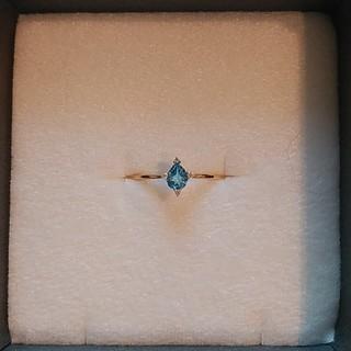 k18  ダイヤモンド 華奢 リング(リング(指輪))