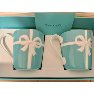 ティファニー(Tiffany & Co.)の新品 ティファニーマグカップセット(日用品/生活雑貨)