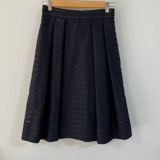 エムプルミエ(M-premier)のエムプルミエブラック スカート 38(ひざ丈スカート)
