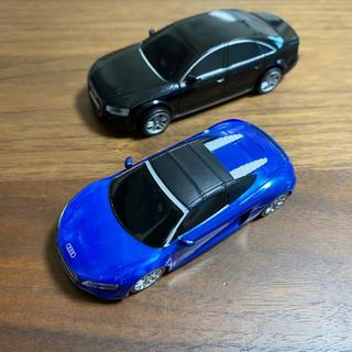 アウディ(AUDI)のミニカー アウディ R8 spyder   A8(その他)