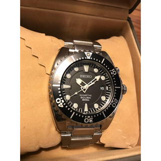 セイコー(SEIKO)のSEIKO 5M62-0BL0 ウレタンバンド付き‼️(腕時計(アナログ))