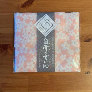白雪ふきん桜柄(収納/キッチン雑貨)