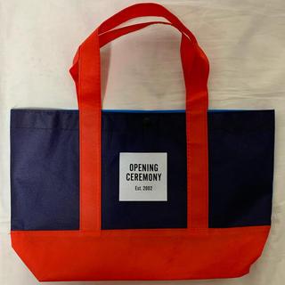 オープニングセレモニー(OPENING CEREMONY)のオープニングセレモニー ショッパー ショップ袋 トートバッグ  (ショップ袋)