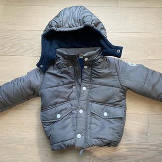 プティマイン(petit main)のプティメイン ダウンコート 110cm グレー(ジャケット/上着)