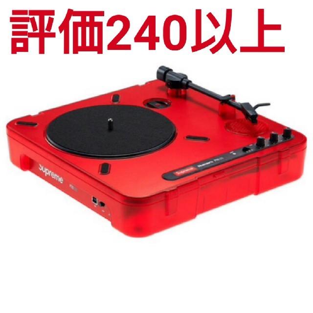 Supreme(シュプリーム)のSupreme®/Numark® PT01 Portable Turntable 楽器のDJ機器(ターンテーブル)の商品写真