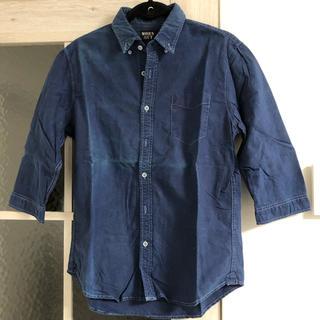 デニムシャツ 七分袖(シャツ)