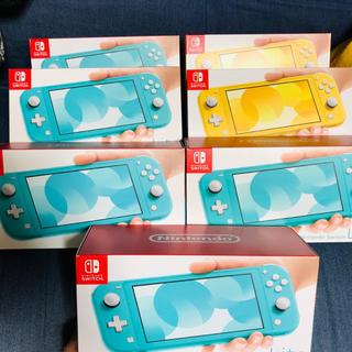 ニンテンドースイッチ(Nintendo Switch)のswitch lite 7台(家庭用ゲーム機本体)