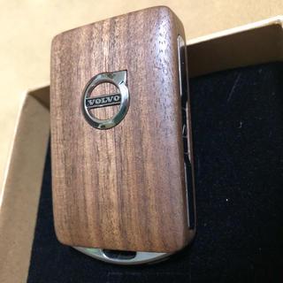 ボルボ(Volvo)のVOLVO Key ケース カバー ウォールナット木目 ボルボ 車(車外アクセサリ)