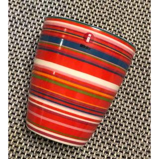 イッタラ(iittala)の【新品・未使用】イッタラ オリゴ カップ/マグ レッド(RED) (食器)