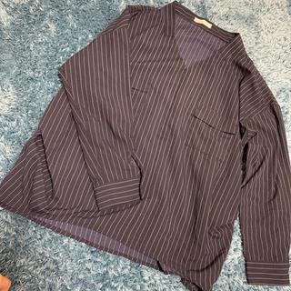 ドレスキップ(DRESKIP)のストライプシャツ(シャツ/ブラウス(長袖/七分))