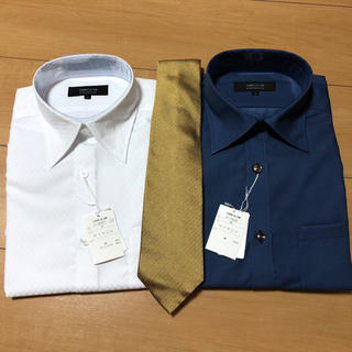 コムサイズム(COMME CA ISM)のワイシャツ・ネクタイ 3点セット(シャツ)