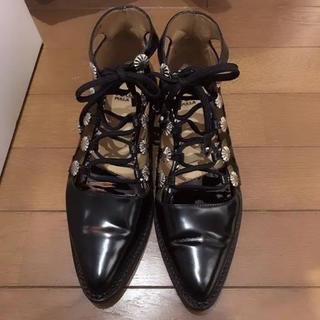 トーガ(TOGA)のTOGA レースアップシューズ(ローファー/革靴)
