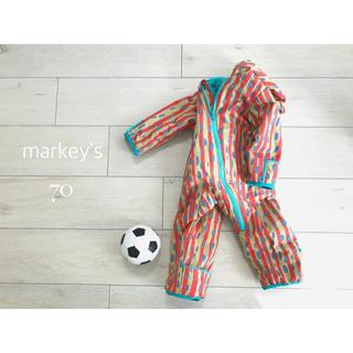 マーキーズ(MARKEY'S)の点と線 ○ markey'sカラフルジャンプスーツ(カバーオール)