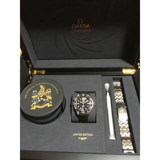 オメガ(OMEGA)のOMEGA オメガ シーマスター SEAMASTER 007限定 貴重 希少(腕時計(アナログ))