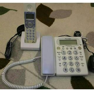 パイオニア(Pioneer)のPioneerコードレス留守番電話(その他)