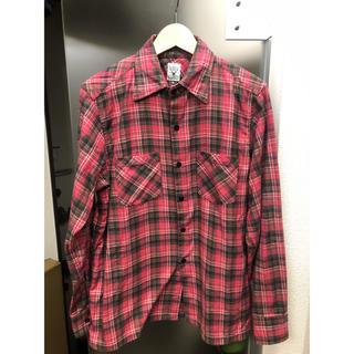 エスツーダブルエイト(S2W8)のsouth2 west8 ネルシャツ ネペンテス シャツ カナダ製(シャツ)