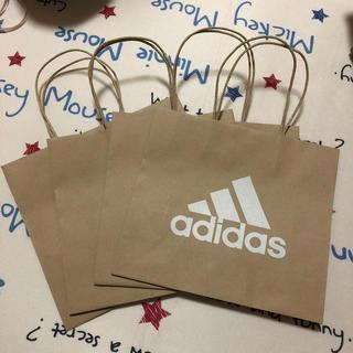 アディダス(adidas)のアディダス 紙袋 4枚セット 小(ショップ袋)