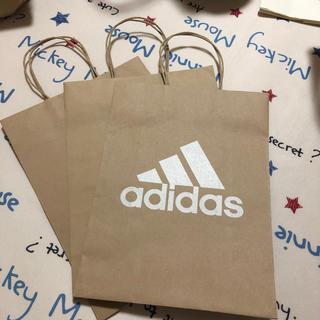 アディダス(adidas)のアディダス 紙袋 中 3枚セット(ショップ袋)