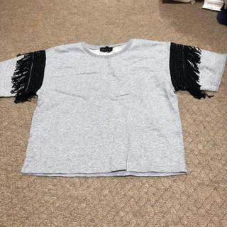 アンビー(ENVYM)のENVYM フリンジTシャツ(Tシャツ/カットソー(半袖/袖なし))