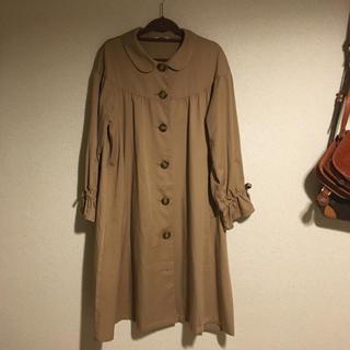 サマンサモスモス(SM2)のehka sopo 春 コート 丸襟 トレンチ Samansa Mos2(トレンチコート)