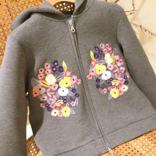 チェスティ(Chesty)のchesty チェスティ Embroidery Parka グレー (パーカー)