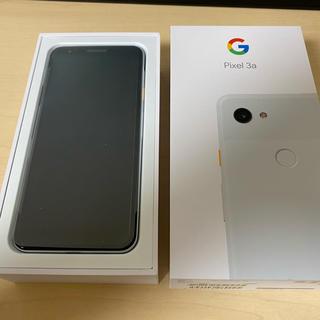 ソフトバンク(Softbank)の☆新品 Google pixel 3a 64GB ホワイト SIMフリー①(スマートフォン本体)