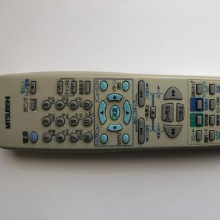 ミツビシデンキ(三菱電機)のRM-D19 ビデオ一体型DVDレコーダー リモコン 三菱電機(テレビ)