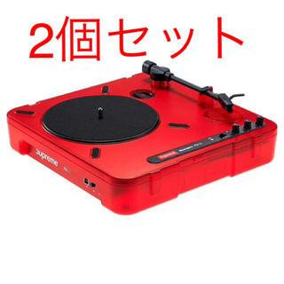 シュプリーム(Supreme)の2個セット supreme Numark Portable Turntable(ターンテーブル)