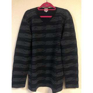 アルマーニ コレツィオーニ(ARMANI COLLEZIONI)のブランド ARMANICOLLEZIONI アルマーニニット セーター ブラック(ニット/セーター)