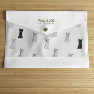 ポールアンドジョー(PAUL & JOE)のステーショナリーケース A5 ポール&ジョー(日用品/生活雑貨)