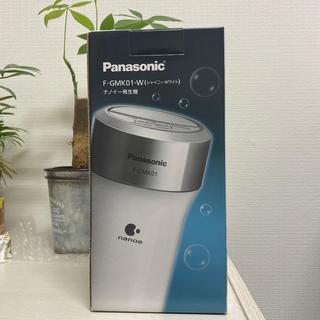 パナソニック(Panasonic)のpanasonic ナノイー発生機 F-GMK01-W ホワイト(車内アクセサリ)