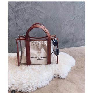 ルームサンマルロクコンテンポラリー(room306 CONTEMPORARY)のStitch mini clear bag room306 シールームリン(トートバッグ)