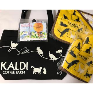 カルディ(KALDI)のカルディ 猫の日バッググッズ アソートセット 最終値下げ(日用品/生活雑貨)