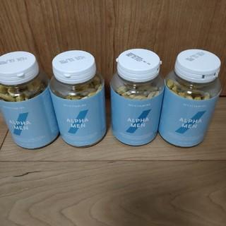 マイプロテイン(MYPROTEIN)のマイプロテイン アルファメン マルチビタミン 120錠×4(ビタミン)