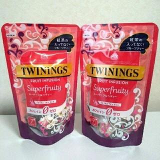 フルーツハーブティー2袋 個数変更可 カフェインゼロ(茶)